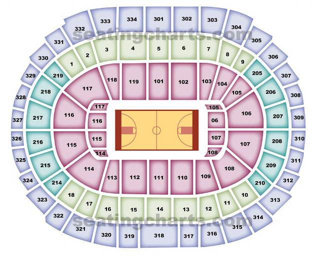 Los Angeles Clippers Seating Chart Clippersseatingchart Com