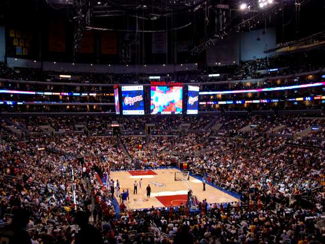Los Angeles Clippers Upper Seats